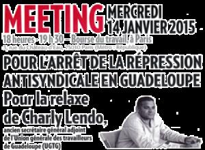 Non à la repression anti syndicale en Guadeloupe #UGTG