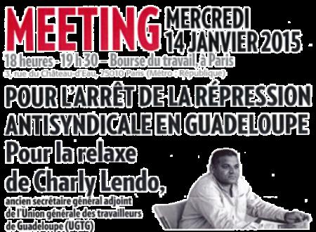 repression syndicat guadeloupe UGTG