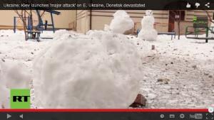 Bombardements massifs sur Donestk des pro-UE pour reprendre l'aéroport #ukraine #Donbass