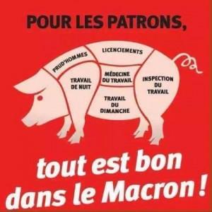 « BERCY MACRON ! », ou quand le pouvoir social-maastrichtien de Hollande achève de se décomposer.