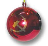 voeux boule noel communiste