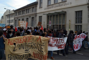 Les JRCF appellent à stopper la criminalisation de l'occupation des facultés ! #JRCF