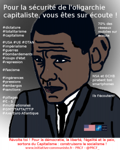 OBAMA NSA Ecoutes,piratage dictature