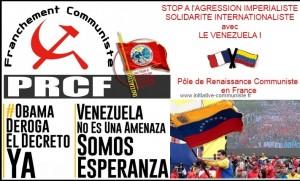Elections au Venezuela : Solidarité du PRCF avec le peuple vénézuelien !