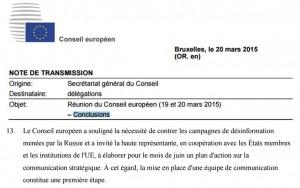 conclusions-conseil-europeen-03-2015 propagande