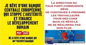 Vue sur la page facebook communiste pour la sortie de l'UE
