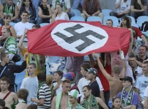 Des supporteurs du Karpaty Lviv en 2012