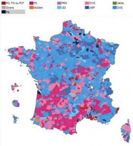 résultats second tour départementales 2015
