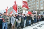 tchèque kscm otan armée us manifestation