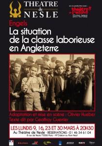 """Théâtre """"la situation de la classe laborieuse en Angleterre"""" [Paris – 16 mars 2015]"""