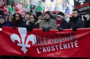 Québec, refusons l'austérité