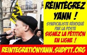 Le PRCF soutien le camarade Yann Le Merrer, militant syndical