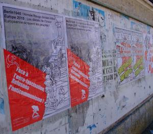 affichage PRCF CISC ukraine europe