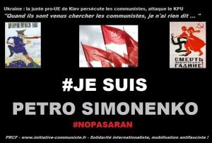 Ukraine : les communistes persécutés par ce régime de Kiev aux officiels ouvertement néo nazis.
