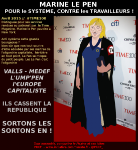 Le pseudo-patriotisme de Marine Le Pen :