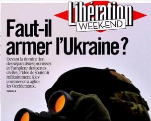 libération faut il armer l'ukraine