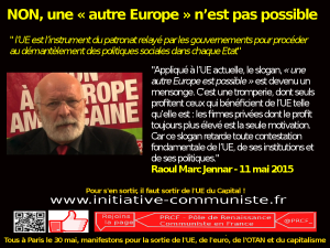Raoul marc jennar Europe sociale