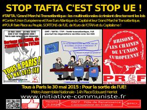 Stop tafta c'est Stop UE PRCF 30 mai