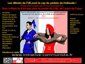 Les diktats de l'UE voila le cap de Hollande ! Analyse des recommandations 2015 de la commission européenne pour la France !