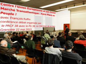#Vidéo  – Conférence de François Ruffin : Contre l'Union Européenne et son Grand Marché Transatlantique : faire place au peuple ! [Grenoble]