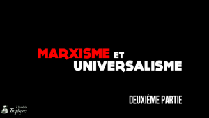 Marxisme et universalisme georges gastaud,débat vidéo partie 2