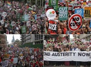 #endausteritynow : Énorme manifestation à LONDRES contre l'austérité [20 juin 2015]
