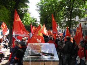 Manifestation du 30 mai pour la sortie de l'UE : reportage radio et reportage photos !