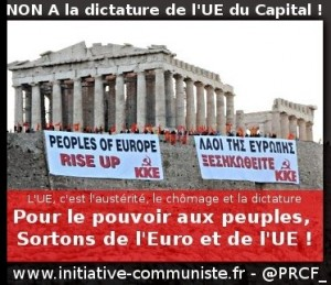 2015 en Grèce l'Europe fait voler les illusions ! l'Eurostérité pour s'en sortir, il faut sortir de l'euro !