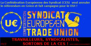 CES confédération européenne des syndicats