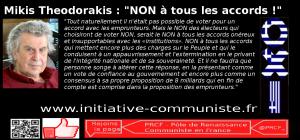 Mikis Theodorakis : NON à tous les accords ! #grece #oxi