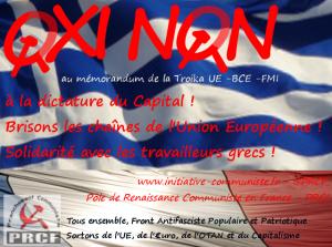oxi non ue réferendum grèce prcf