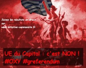 #greferendum : résultat du referendum en Grèce, le non largement en tête selon des résultats partiels