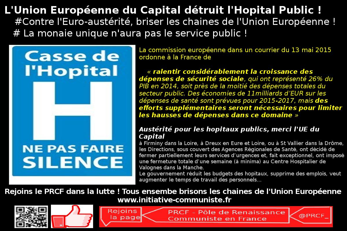 europe austérité hopital loi santé