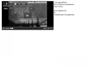 La construction européenne, l'Union Européenne et Vichy #europe