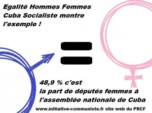 parité homme femme cuba  2