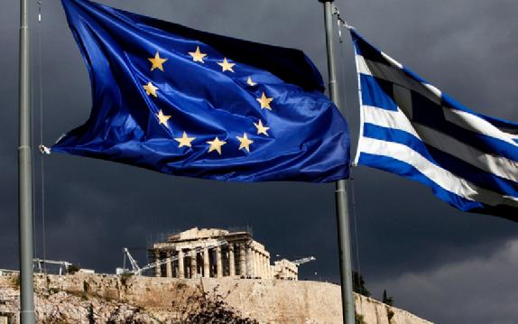 drapeau UE Grèce