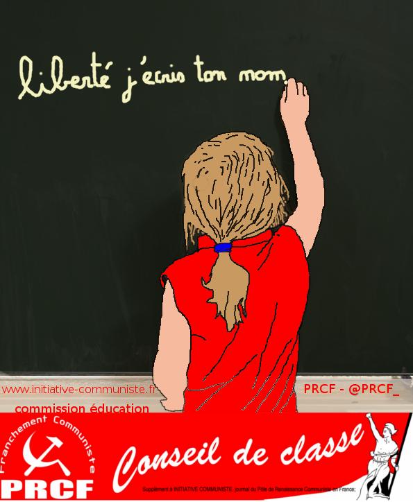 prcf école conseil de classe