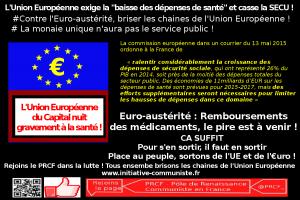 Euro-austérité : baisse du taux de remboursement des médicaments, le pire est à venir ! #UE