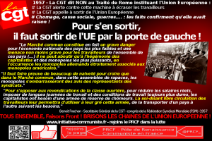 Le combat de la CGT contre l'Union Européenne : en 1957 la #CGT alertait contre cette machine à écraser les travailleurs ! #UE