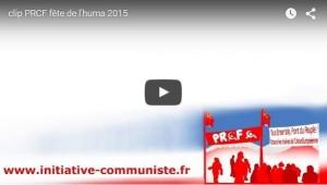 Dossier spécial Fête de l'Huma #PRCF #vidéo #FDH15