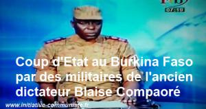 Coup d'Etat au Burkina Faso : syndicats et balais-citoyen appellent à la mobilisation #burkina #balaiscitoyen