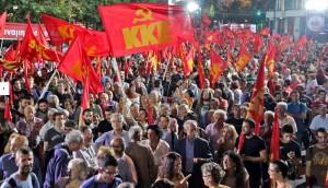 Le PRCF soutient les communistes grecs contre la fascisation