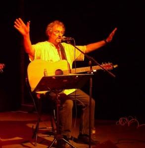 13 septembre : Concert de Michel Lebourg sur le stand du PRCF à la fête de l'huma #FDH15