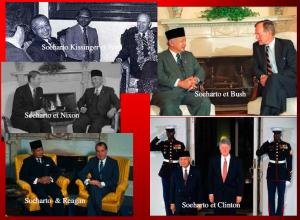 soeharto et les présidents américains