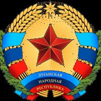 Symbole de la République Populaire de Lougansk