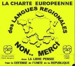 ÉCHEC à la CHARTE EUROPÉENNE des langues minoritaires et régionales – Par Floréal