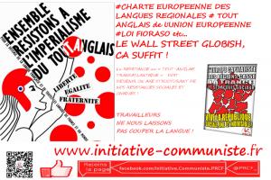 Preserver La Diversite Linguistique Contre Le Tout Anglais De Wall Street Pour Preserver La Creativite De L Humanite Initiative Communiste