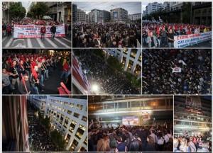 Grèce : contre la liquidation de la sécu par le gouvernement SYRIZA PGE, le PAME occupe le ministère du travail