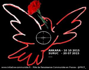 #ANKARA ATTENTAT à ANKARA :CRIME DE GUERRE… CIVILE #turquie