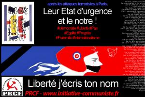 Nous ne céderons pas ! – appel collectif #Liberté #etatdedroit #sécurité vs #etatdurgence
